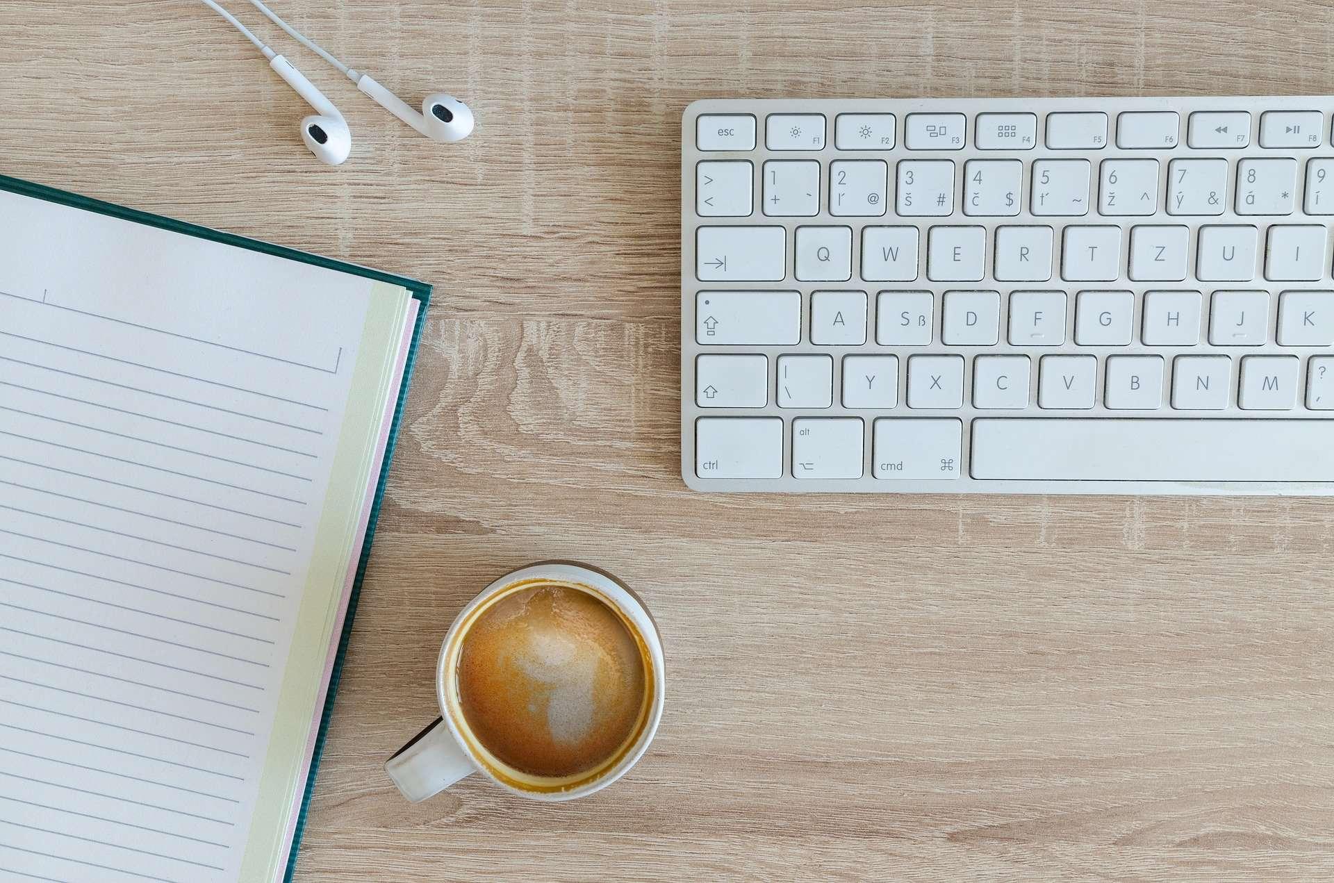 keyboard for web design & digital marketing